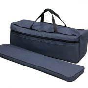 Фото комплекта мягких накладок с сумкой (верх ткань) (60 см)